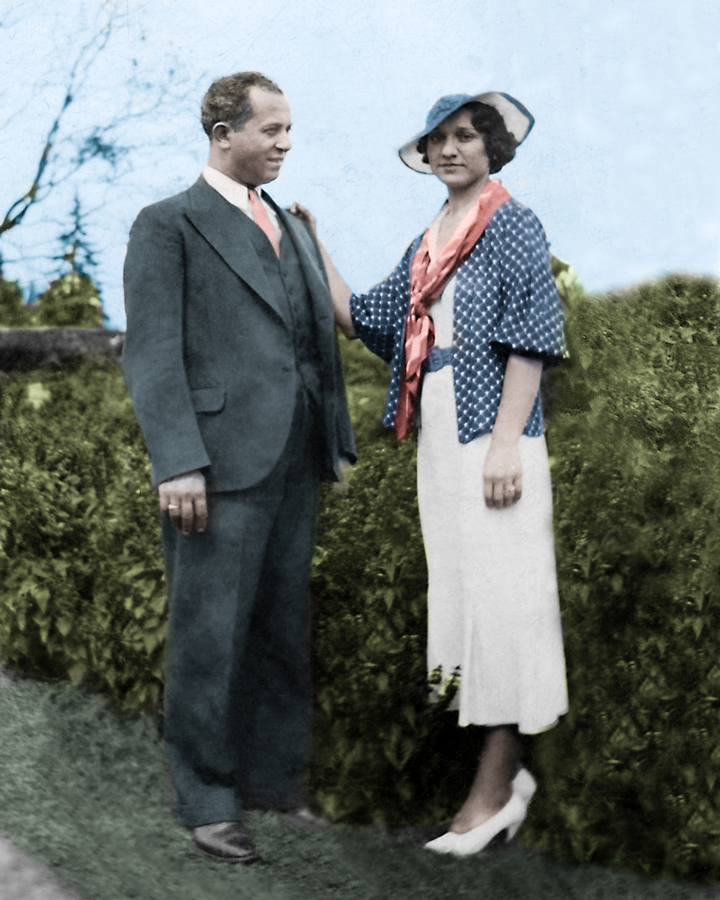 Arnette Grandparents colorized