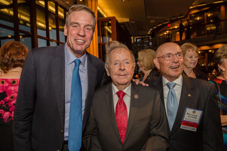 Senator Mark Warner & late VA senator Charles Colgan
