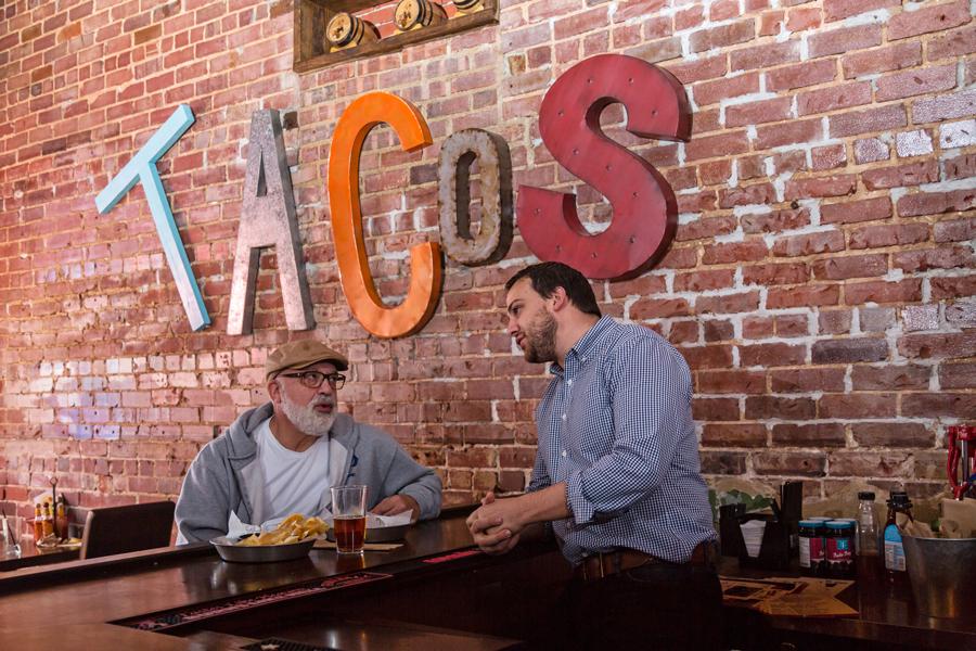 Restaurant patron