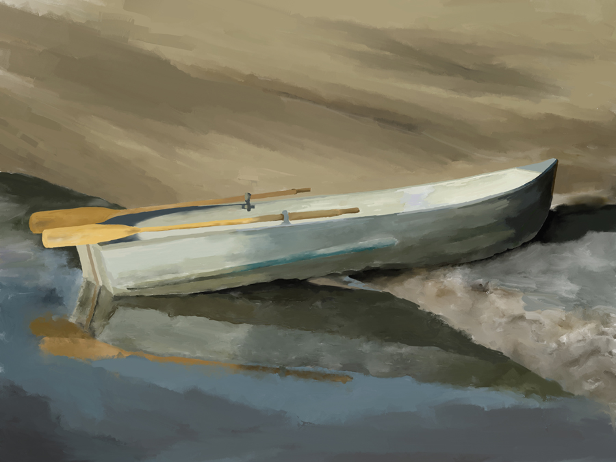 loon lake rowboat