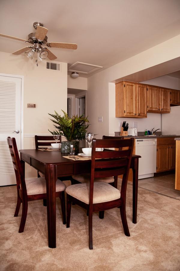 Apartment Dining Room