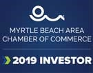 Myrtle Beach Area Chamber of Commerce 2019 sticker