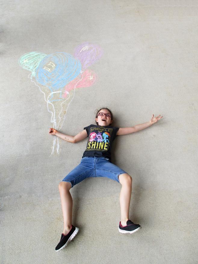Chalk Drawing Story